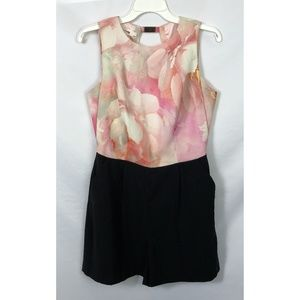 Ted Baker Rose on Canvas Playsuit